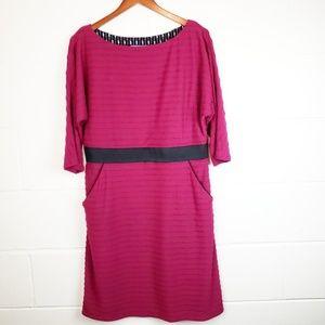 Kay Unger Bandage Style Dress with Pockets